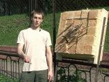 Ударная техника саперной лопаткой, метание ножей